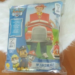 Paw Patrol Marshall Foam costume with Hat Small